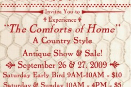 Three Speckled Hens Antique Show & Sale