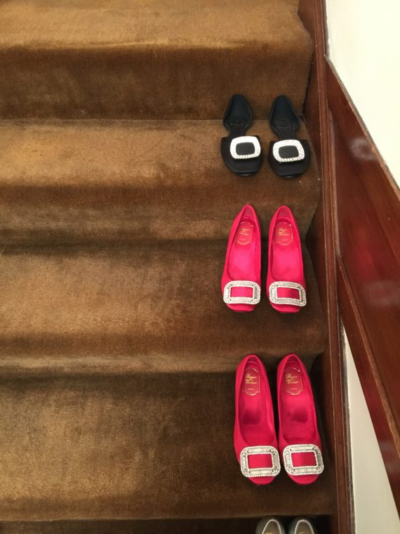SHOES on the STAIRCASE