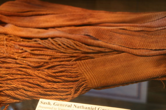 SASH worn by General Nathanael GREENE